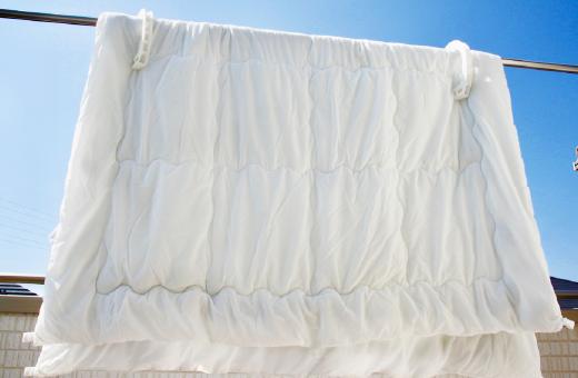 布団や洗濯物